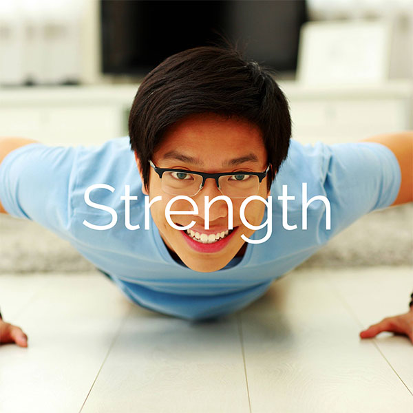 Eight Patterns of Fitness, part 4 of 8: Strength